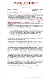 52 Mortgage Promissory Note Mortgage Promissory Note First Notes