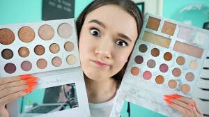 which palette should you get new carli vs old carli fionafrills vlogs