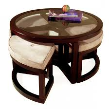 ... Coffee Table Awesome Round With Stools Outdoor Seating Decor Ottomans  Underneath Coffee Tables With Seating Coffee