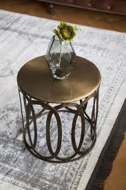 metal drum table. Top 40 Marvelous Metal Side Table Drum End Coffee And Tables Round