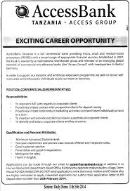 Corporate Sales Representative Tayoa Employment Portal Jewelry Job