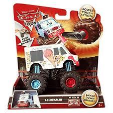 Amazon.com: Disney/Pixar Cars Toon I-Screamer Monster Truck: Toys ...