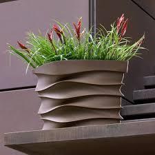 crescent garden planters. Crescent Garden Modern Planter Planters N