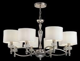 Casa Padrino Kronleuchter Silber Weiß ø 82 X H 46 Cm Prunkvoller Kronleuchter Im Neoklassischen Stil