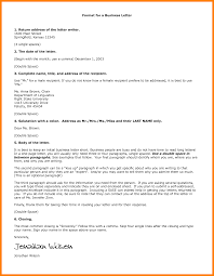 Resume Address Format Business Letter Format 001 Yralaska Com
