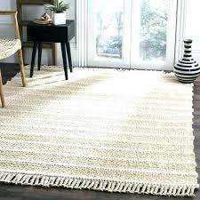 white jute rug bleached hand woven natural fiber 9 x round company white jute rug