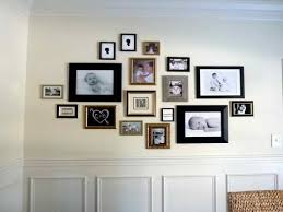Picture Wall Ideas - Family Picture Wall Arrangement Ideas