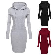 LITTHING 2018 <b>Fashion Hooded Drawstring Fleeces</b> Womens ...