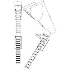 <b>Деревянная чердачная лестница ЧЛ-02</b>