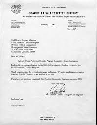 Projection Transmission Letter