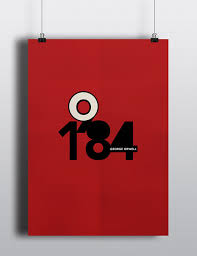 1984 is a clic by george orwell over the years there have been numerous publications with a variety of book cover designs this is my take on the same