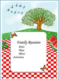 Family Reunion Flyer Templates Free Created Especially To Help You Coordinate A Big Family Reunion