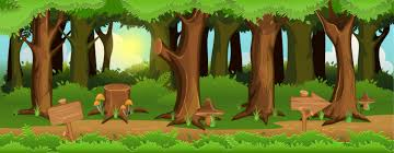 Forest Background Game 2d Game Art Partners