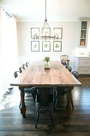 table dining room behind the scenes of fixer upper modern farmhouse dining room round dining room