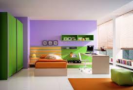 green and purple room interior design