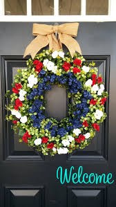 patriotic wreaths for front doorFront Doors Terrific Front Door Wreath Idea Inspirations Ideas