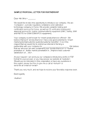 Sample Of Proposal Letter For Product Free General Release Of