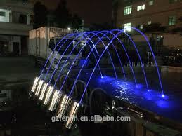 customized music dancing ganesh water fountain with lights