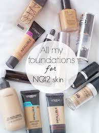 my nc42 equivalent foundations