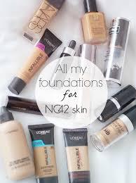 my nc42 equivalent foundations