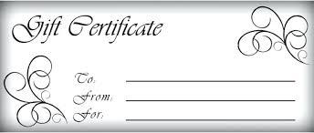 Template Gift Certificate Timetoreflect Co