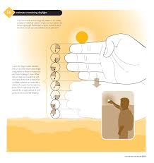 quick trick estimate the sunset using your fingers staff report do you have a trick like this that a parent or teacher passed on to you as a kid tell us about it