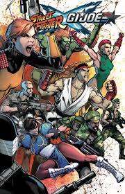 street fighter vs g i joe vol 1 idw publishing