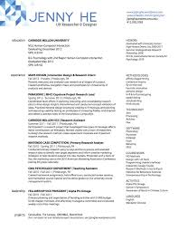 Ux Resume Ux Researcher Resume Resume Cover Letter 20