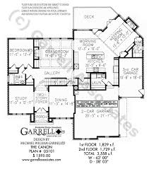 floor plan of a house with dimensions. Canon House Plan 05101, 1st Floor Of A With Dimensions