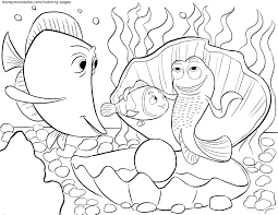 Small Picture Nemo Coloring Pages Free Coloring Coloring Pages
