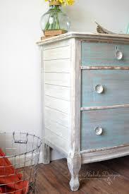 whitewash wood furniture. Beachy Wood Plank Dresser, Helen Nichole Designs, Milk Paint, White Washed Furniture, Whitewash Furniture