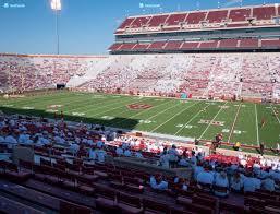 Oklahoma Memorial Stadium Seating Chart Gaylord Family Oklahoma Memorial Stadium Section 3 Seat