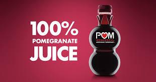 POM Wonderful – 100% <b>Pomegranate</b> Juice