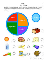 Health and Nutrition Worksheets | Page 2 of 2 | Have Fun Teaching