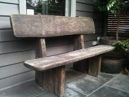 large rustic old vintage outdoor solid