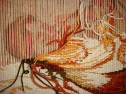 Ручное ткачество Гобелен Авторская дипломная работа  0