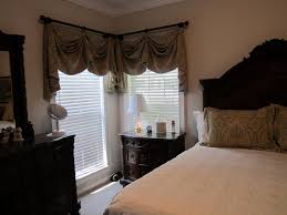 Curtain Valances For Bedroom Custom Valances For Master Bedroom With Matching Pillow Shams By