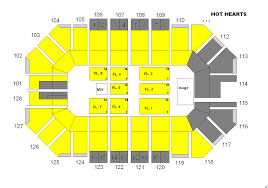 Warehouse Live Seating Chart Hot Hearts Ford Park