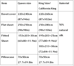 Bed Sheet Sizes Marlew Info