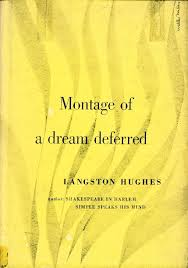 english black canadian american z atilde sup calo poets 1951 book cover for montage of a dream deferred by langston hughes