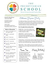 october newsletter ideas preschool newsletter october 2017 wabash presbyterian church