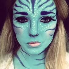 na vi avatar facepaint makeup