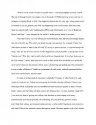 what is on the minds of america s youth today essays zoom