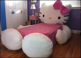 hello kitty bed furniture. hello kitty bed so cute how could a little girl not sleep in that furniture