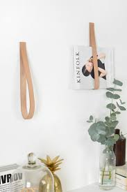 White Leather Magazine Holder Decor Hanging Diy Magazine Holder With White Paint Wall Also 57