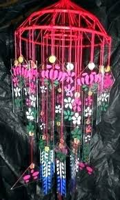 old fashioned glass wind chimes vintage chime large style japanese for