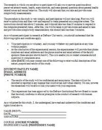Sample Informed Consent Form - Depauw University
