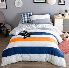 rugby stripe duvet cover navy sweetgalas