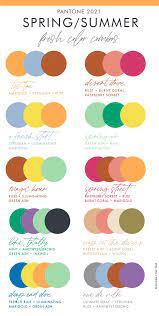 Spring Summer 2021 Pantone Color Trends | Summer color trends, Color trends  fashion, Pantone color