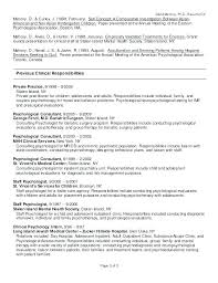 Graduate Resume Template Amazing Psychology Resume Template Psychologist Resume Simple Psychology